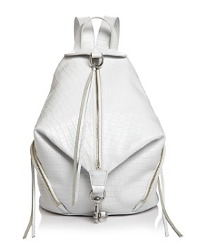 09a0cee88706 Rebecca Minkoff - Julian Croc-Embossed Leather Backpack ...