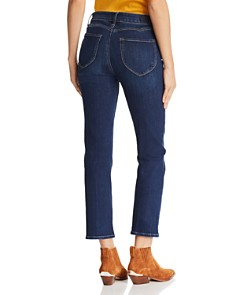 PAIGE - Hoxton Ankle Straight Jeans in Auturo