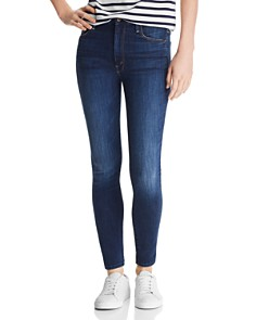 MOTHER - Looker High-Rise Ankle Skinny Jeans in Up Your Alley