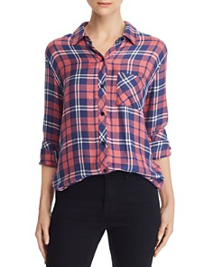 Rails - Hunter Metallic Plaid Shirt
