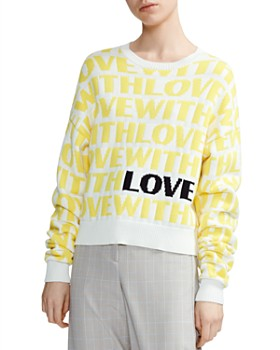 Maje - Monty Jacquard Sweater