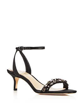 Imagine VINCE CAMUTO - Imagine VINCE CAMUTO Women's Kolo Embellished Kitten-Heel Sandals