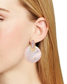 Kendra Scott - Stone Disc Drop Earrings