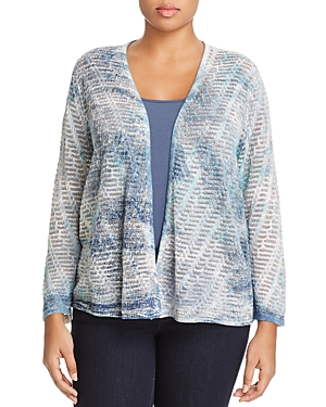 Nic+Zoe Plus Sea Map Cardigan