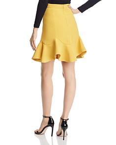 Bardot - Flounce-Hem Mini Skirt - 100% Exclusive