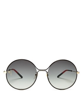 4d88cd69c2c20 Gradient Gucci Oversized Sunglasses - Bloomingdale s