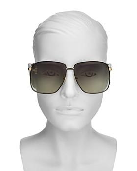 c48108ae9273 ... 62mm Gucci - Women's Oversized Square Sunglasses, ...