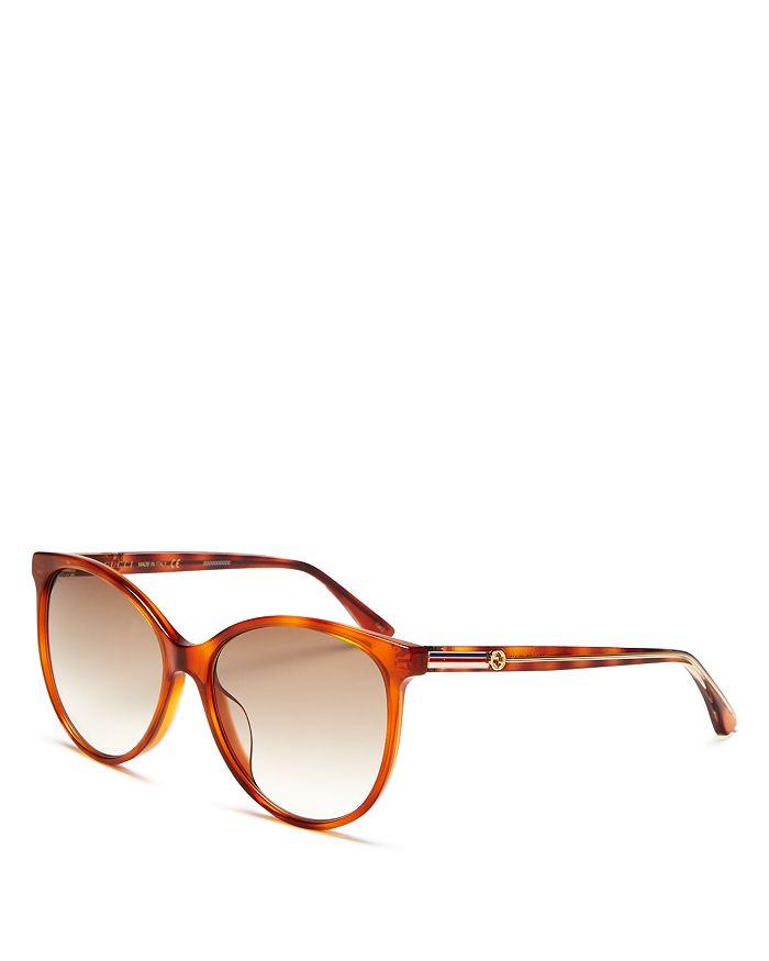 174906509dac Gucci Women's Cat Eye Sunglasses, 57 mm | Bloomingdale's