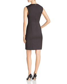 BOSS - Delilia Mini Check Sheath Dress