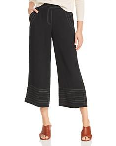 Donna Karan - Contrast Stitch Culottes