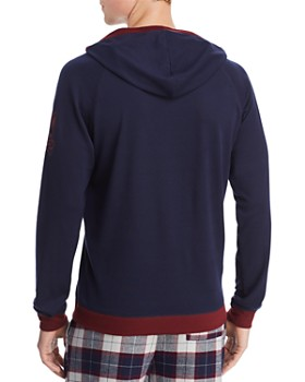 Psycho Bunny - Summit Lightweight Hooded Lounge Sweatshirt