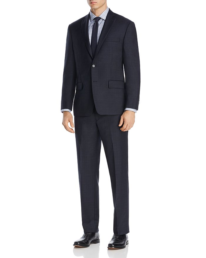 Michael Kors - Tonal Plaid with Windowpane Classic Fit Suit Separates