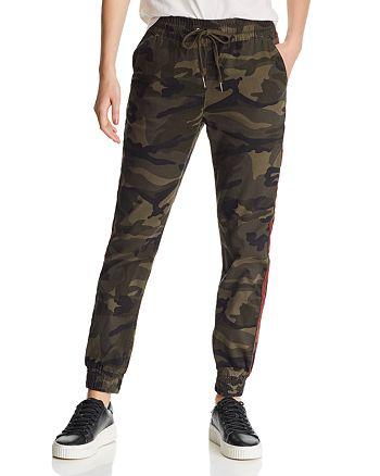 AQUA - Track Stripe Camo Jogger Pants - 100% Exclusive