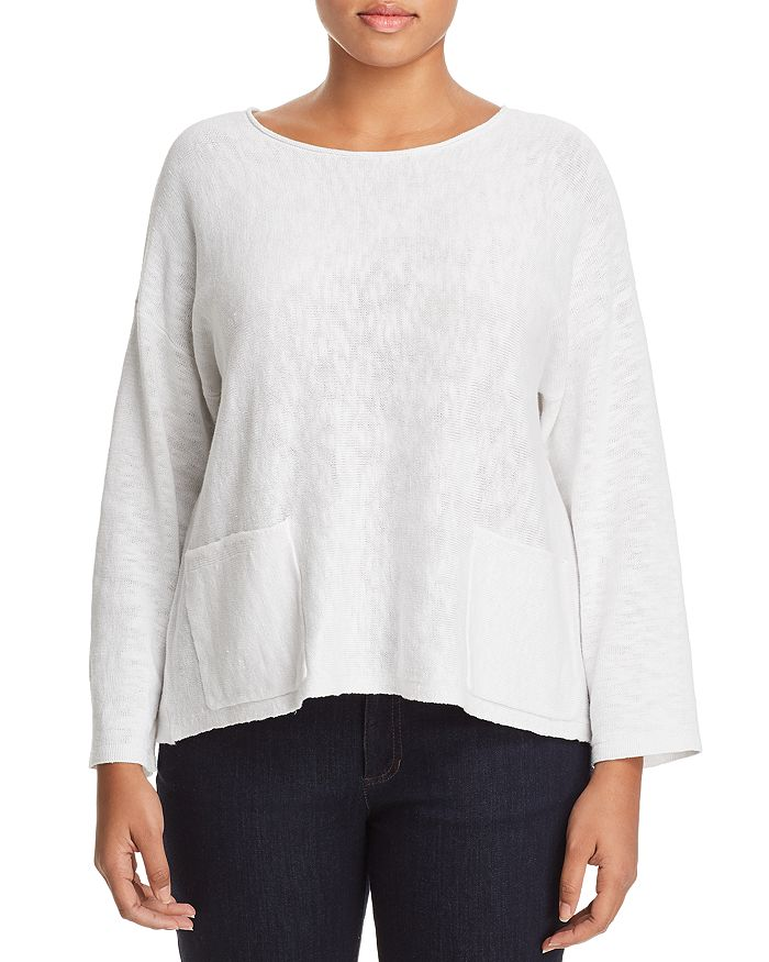 Eileen Fisher Plus - Textured Box Top