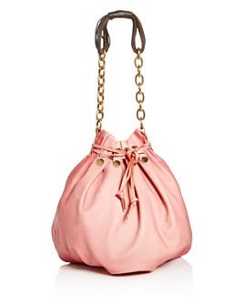 Marni - Bindle Medium Leather Shoulder Bag