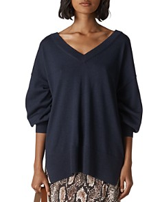 Whistles - Relaxed Merino Wool Sweater