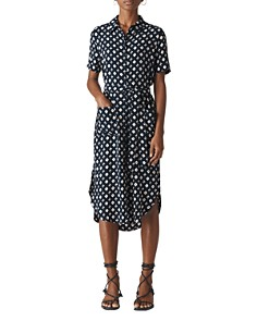 Whistles - Montana Printed Shirt Dress