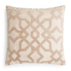 "Hudson Park Collection - Velvet Appliqué Decorative Pillow, 20"" x 20"" - 100% Exclusive"