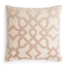 """Hudson Park Collection - Velvet Appliqué Decorative Pillow, 20"""" x 20"""" - 100% Exclusive"""