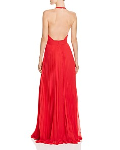 Aidan by Aidan Mattox - Pleated Chiffon Gown - 100% Exclusive