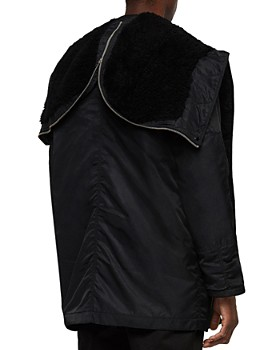 ALLSAINTS - Garth Parka with Shearling-Lined Hood
