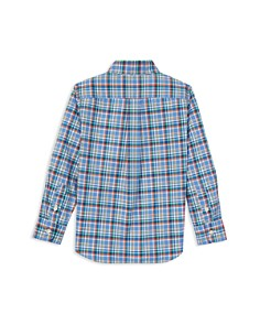 Ralph Lauren - Boys' Checked-Plaid Poplin Sport Shirt - Little Kid