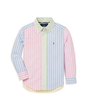 Ralph Lauren - Ralph Lauren Boys' Striped Fun Shirt - Little Kid