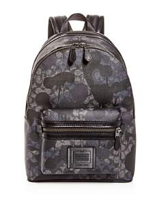 COACH - Signature Wild Beast Print Academy Backpack