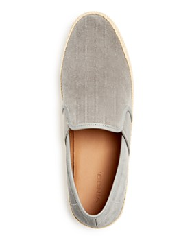 Vince - Men's Chad Slip-On Perforated Suede Espadrille Sneakers