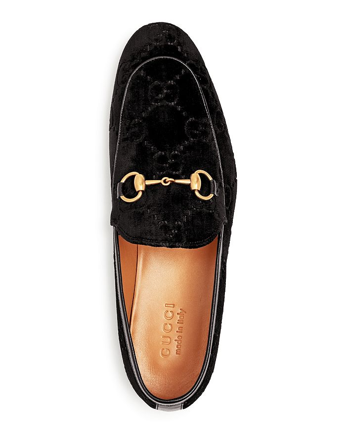 2c0d22d301d Gucci - Men s Quentin Embossed Velvet Apron-Toe Loafers
