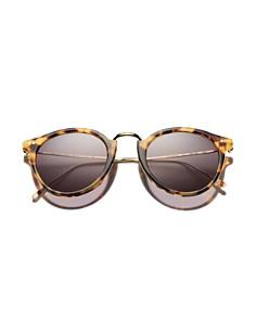 Illesteva - Women's Portofino Round Sunglasses, 54mm
