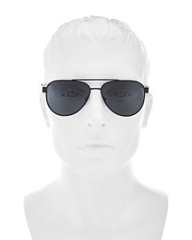 40f7277091 ... 58mm Prada - Men s Linea Rossa Polarized Mirrored Square Sunglasses