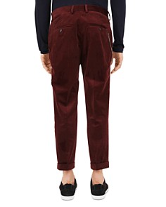 The Kooples - Fuzzy Velvet Slim Fit Trousers
