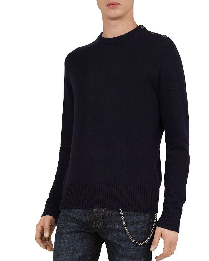 The Kooples - Mix Wool & Cashmere Sweater