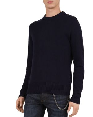 The Kooples Mix Wool & Cashmere Sweater