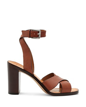 Dolce Vita - Women's Nala Block Heel Leather Sandals