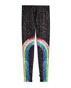 Terez - Girls' Rainbow Splatter Leggings - Big Kid