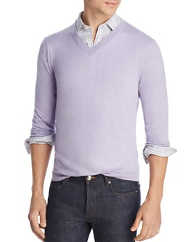 29d062c6d The Men's Store at Bloomingdale's - Lightweight Cashmere V-Neck Sweater -  100% Exclusive ...