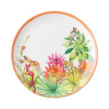 Juliska - Flora & Fauna Melamine Dessert/Salad Plate