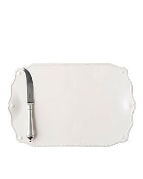 "Juliska - Berry & Thread 15"" Serving Board with Knife"