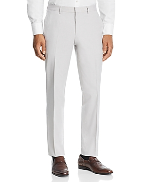 Boss Genesis Cotton Stretch Solid Slim Fit Dress Pants