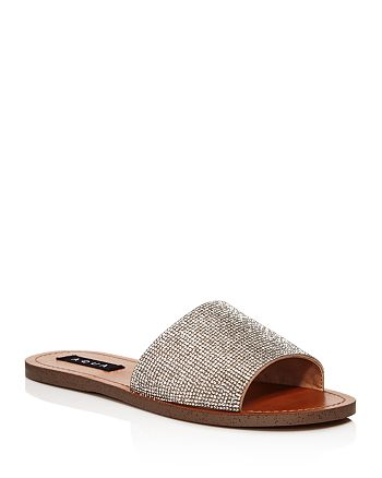 AQUA - Women's Tint Crystal Slide Sandals - 100% Exclusive
