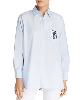 61d4fe5527 Tory Burch - Striped-Back Shirt ...
