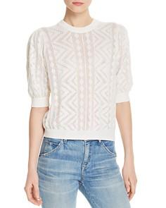 Joie - Chamora Openwork Sweater
