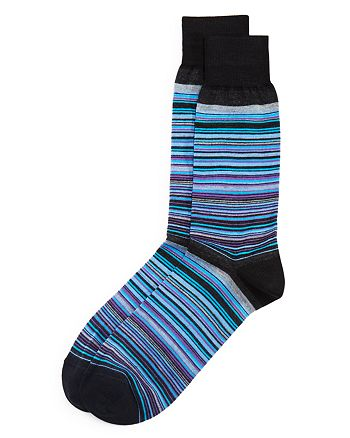 The Men's Store at Bloomingdale's - Striped Socks - 100% Exclusive