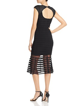 0d8c05fea5b ... AQUA - Power-Mesh Striped Dress - 100% Exclusive