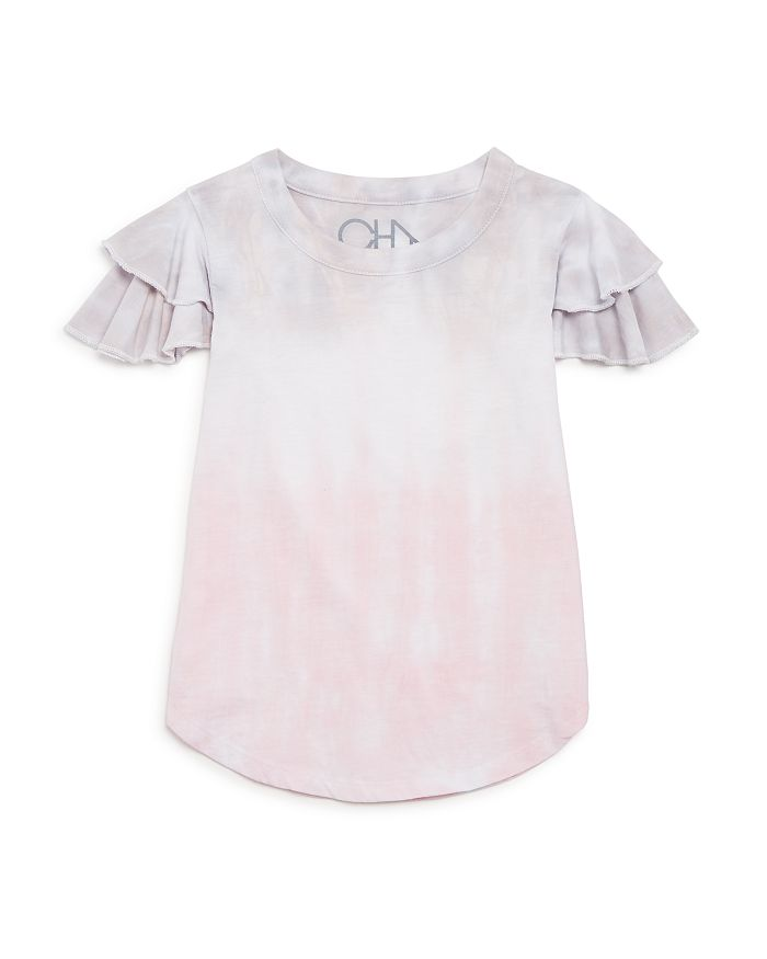 CHASER - Girls' Flutter-Sleeve Tee - Big Kid