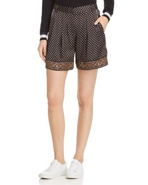 Scotch & Soda Printed Pleated Shorts