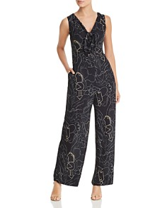 Lafayette 148 New York - Adelphi Sleeveless Printed Jumpsuit