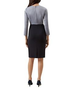 HOBBS LONDON - Dania Color-Block Sheath Dress